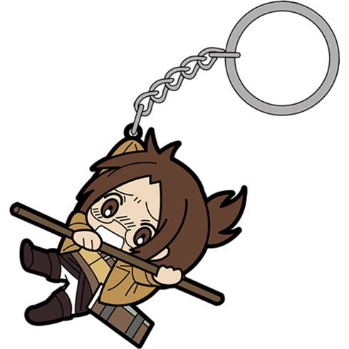 Attack on Titan Tsumamare Key Ring: Hanji