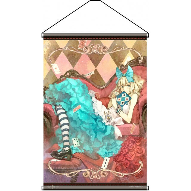 Charama Wall Scroll: Fairy Story Alice in Wonderland by Hidari