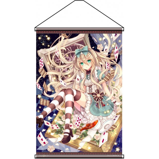 Charama Wall Scroll: Fairy Story Alice in Wonderland by Nozomi