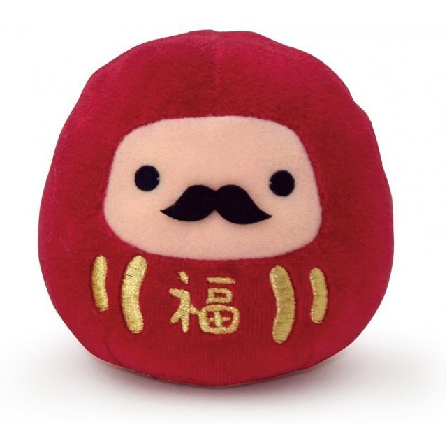 Japanesque Mochitto Plush: Daruma