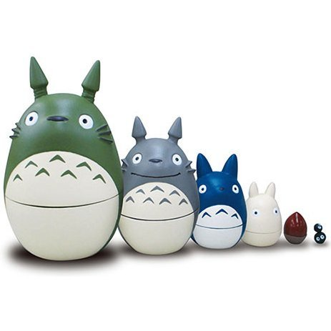My Neighbor Totoro Matryoshka (Re-run)