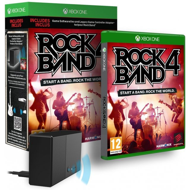 Rock Band 4 (with Legacy Game Controller Adapter)