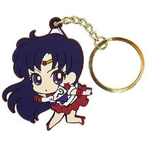 Sailor Moon Crystal Tsumamare Keychain: Sailor Mars (Re-run)