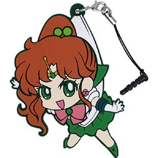 Sailor Moon Crystal Tsumamare Strap: Sailor Jupiter (Re-run)