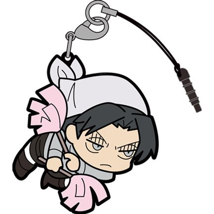 Attack on Titan Tsumamare Strap: Cleaning Levi