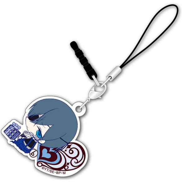 Black Butler Book of Circus Bocchi-kun Acrylic Charm: Ciel White Day Ver.