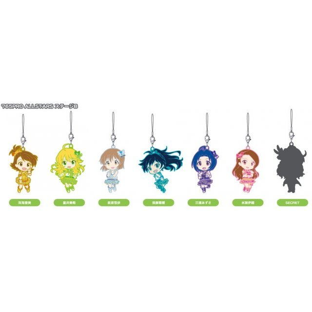 Idolm@ster One For All Nendoroid Plus Rubber Straps: 765 Pro Allstars Stage B (Set of 8 pieces)
