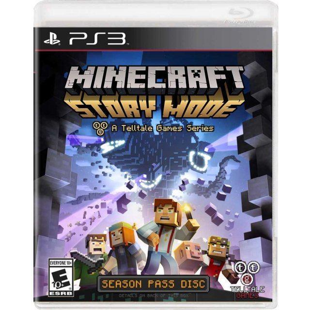 Minecraft: Story Mode - A Telltale Games Series (Season Pass Disc)