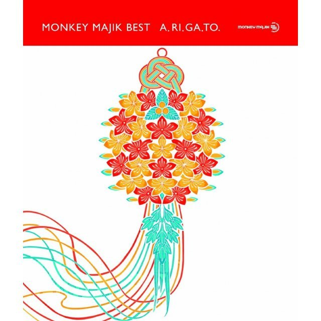 Monkey Majik Best - A.RI.GA.TO [3CD+DVD]