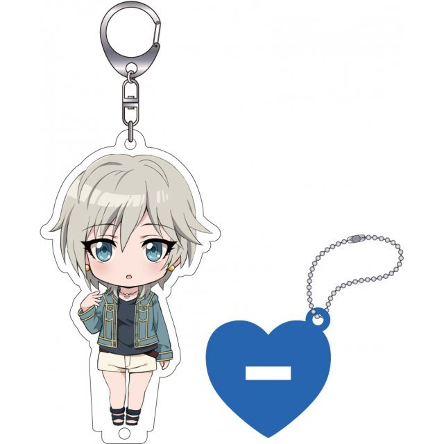 The Idolmaster Cinderella Girls Nendoroid Plus Key Chain with Acrylic Stand: Anastasia