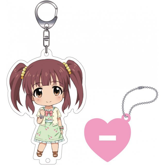 The Idolmaster Cinderella Girls Nendoroid Plus Key Chain with Acrylic Stand: Ogata Chieri
