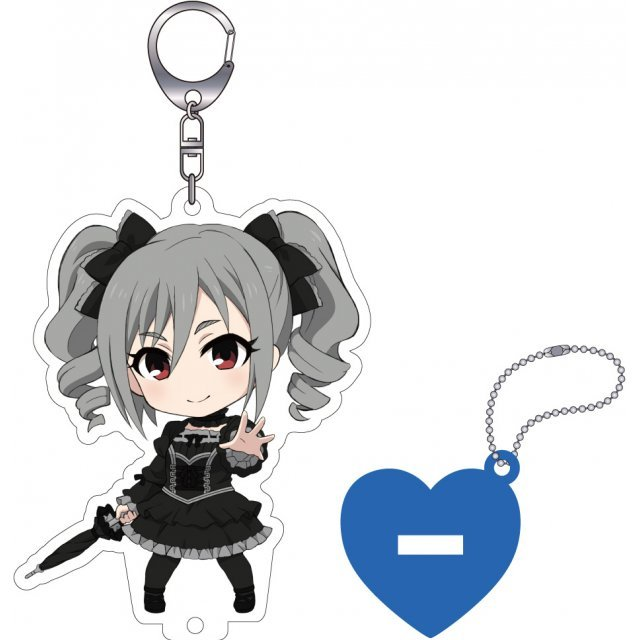 The Idolmaster Cinderella Girls Nendoroid Plus Key Chain with Acrylic Stand: Kanzaki Ranko