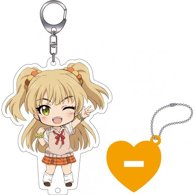 The Idolmaster Cinderella Girls Nendoroid Plus Key Chain with Acrylic Stand: Jougasaki Rika