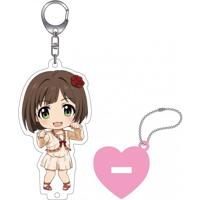 The Idolmaster Cinderella Girls Nendoroid Plus Key Chain with Acrylic Stand: Maekawa Miku