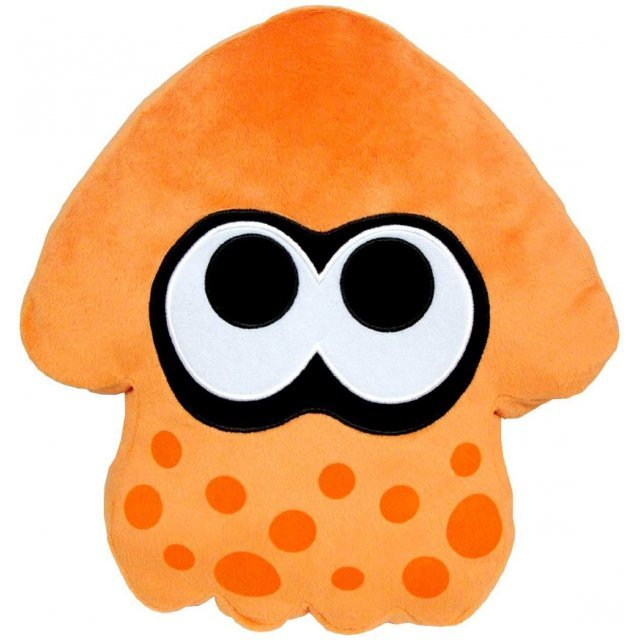 Splatoon Plush: Orange Splatoon Squid Cushion (Re-run)