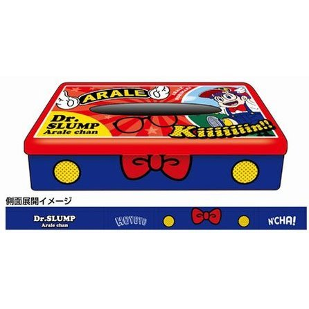 Dr. Slump Arale-chan Box Tissue Can 01: Arale-chan BC
