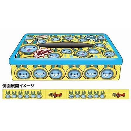 Youkai Watch Box Tissue Can 08: USA-pyon Pattern BC
