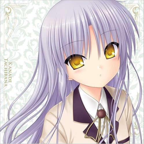 Angel Beats! -1st beat- Cushion Cover: Kanade
