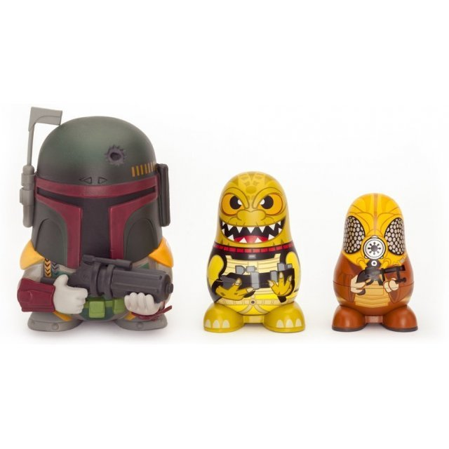 Star Wars Chubby Collectable Russian Doll Figure Set (Boba Fett)