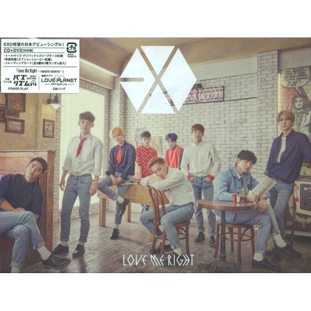 Love Me Right - Romantic Universe [CD+DVD Limited Edition]