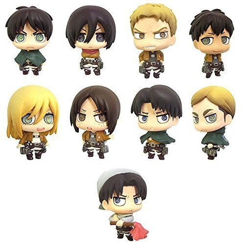 Color Collection Attack on Titan Vol.2 (Set of 8 pieces)