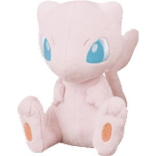 Pocket Monsters Plush: I Love Mew Sitting Ver.