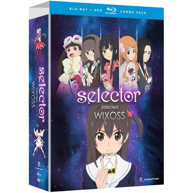 Selector Infected WIXOSS: The Complete Series (Limited Edition) [Blu-ray+DVD]