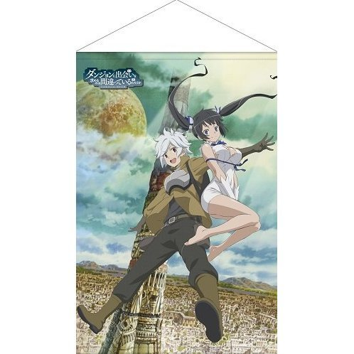 Is It Wrong to Try to Pick Up Girls in a Dungeon? Wall Scroll