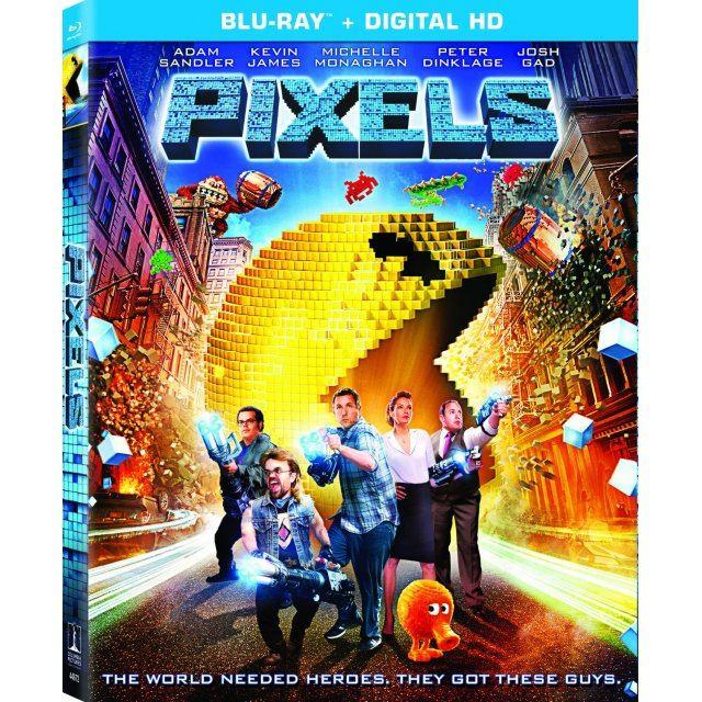 Pixels [Blu-ray+Digital HD]