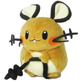 Pocket Monsters Plush: PP14 Dedenne (S)