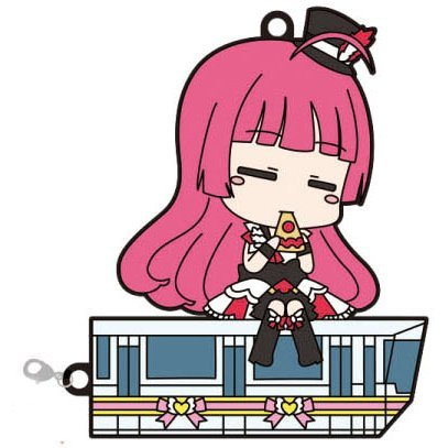 PriPara CharaRide Rubber Strap: Sophy on Prerail
