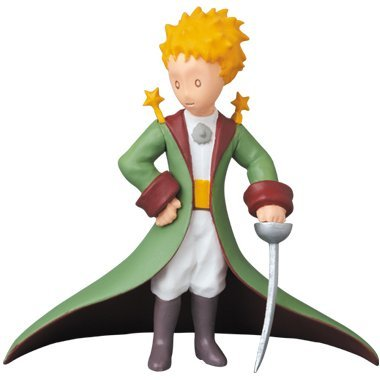 Ultra Detail Figure The Little Prince with Cape Green