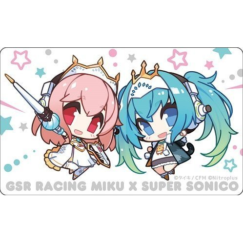 Hatsune Miku GT Project Racing Miku x Super Sonico Decoration Jacket 1