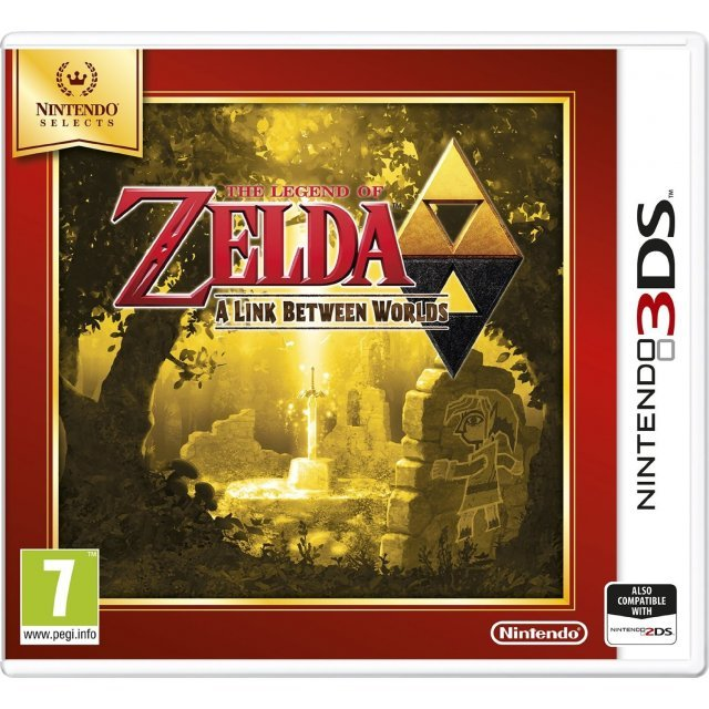 The Legend of Zelda: A Link Between Worlds (Nintendo Selects)
