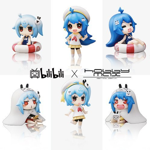 HobbyMax bilibili 2233tan Cute Edition Series 01 Cosplay Ver. (Set of 8 pieces)