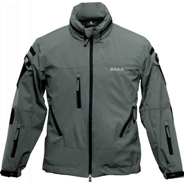 Biohazard BSAA Soft Shell Jacket Sage (S Size)