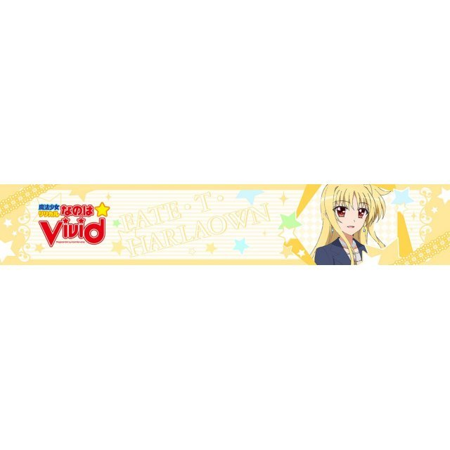 Magical Girl Lyrical Nanoha Vivid Mofu Mofu Muffler Towel: Fate