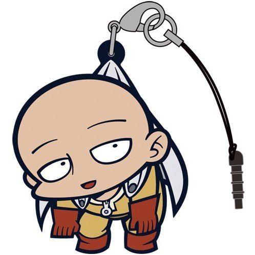 One-Punch Man Tsumamare Strap: Saitama