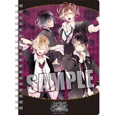 Diabolik Lovers DARK FATE Ring Notebook B6 W: Mukami