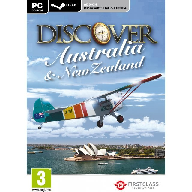 Discover Australia and New Zealand (FSX and Steam)