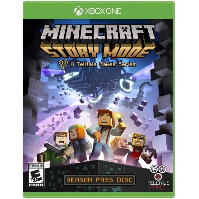 Minecraft: Story Mode - A Telltale Games Series Season Pass Disc (English)