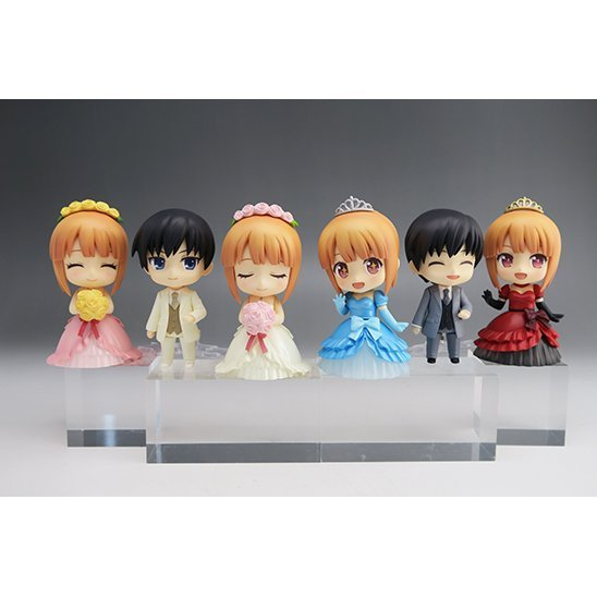 Nendoroid More: Dress-Up Wedding (Set of 6 pieces) (Re-run)