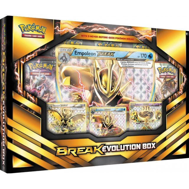 Pokemon TCG: BREAK Evolution Box