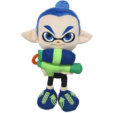 Splatoon All Star Collection Plush: Boy A (S)