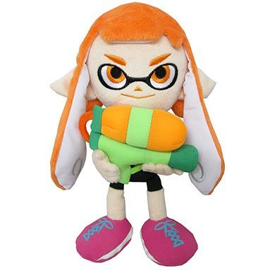 Splatoon All Star Collection Plush: Girl A (S) (Re-run)