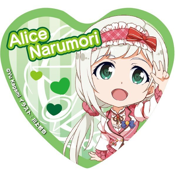 Angel Festa! Heart Can Badge: Narumori Alice