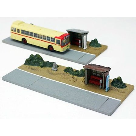 Visual Scene Accessory: 008-4 Bus Stop B4 (Country Type)