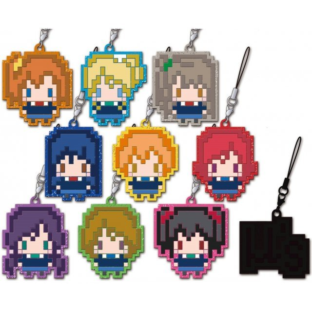 Love Live! Dot Trading Rubber Strap (Set of 10 pieces)