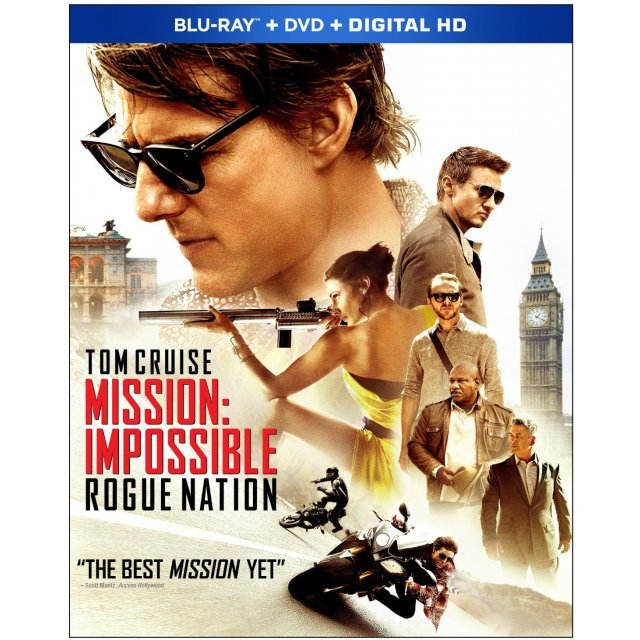 Mission: Impossible - Rogue Nation  [Blu-ray+DVD+Digital HD]