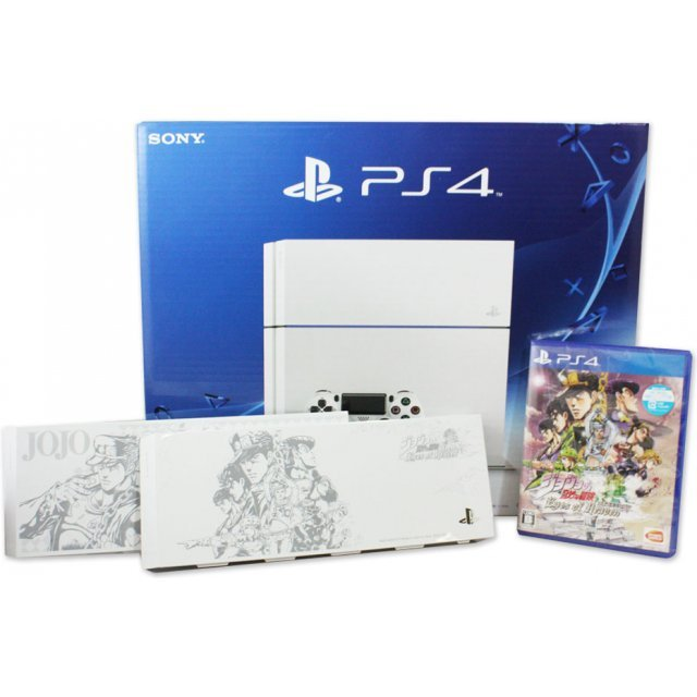 PlayStation 4 System [Jojo no Kimyou na Bouken Eyes of Heaven Limited Edition] (Glacier White)